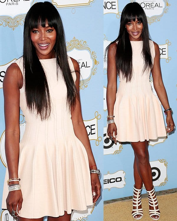 Naomi Campbell at the 6th Annual Essence Black Women in Hollywood Luncheon