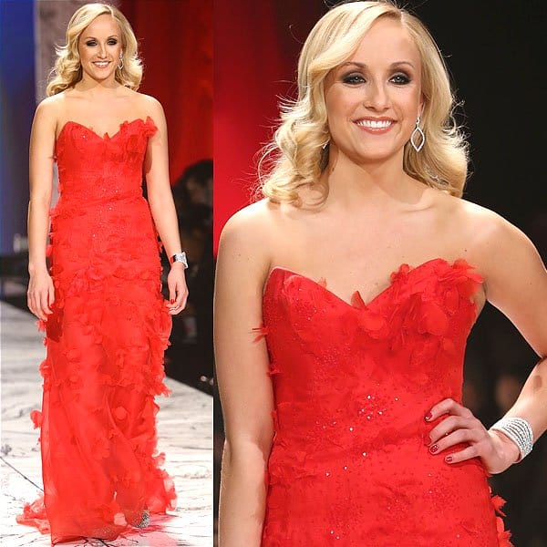 Nastia Liukin The Heart Truth's Red Dress Collection