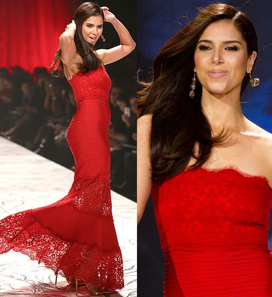Roselyn Sanchez The Heart Truth's Red Dress Collection