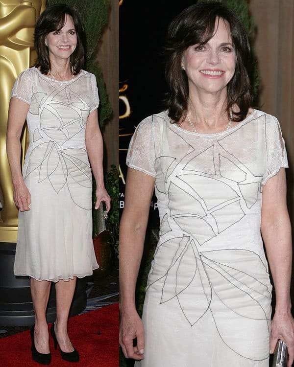 Sally Field at the 85th Academy Awards Nominees Luncheon held at Beverly Hilton Hotel