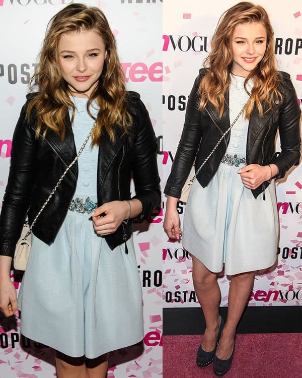 Chloe Moretz Wears Head To Toe Chanel At The Vogue Party