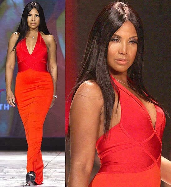 Toni Braxton The Heart Truth's Red Dress Collection
