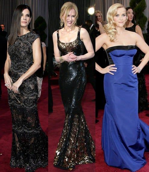 celebrities oscar awards feb 24