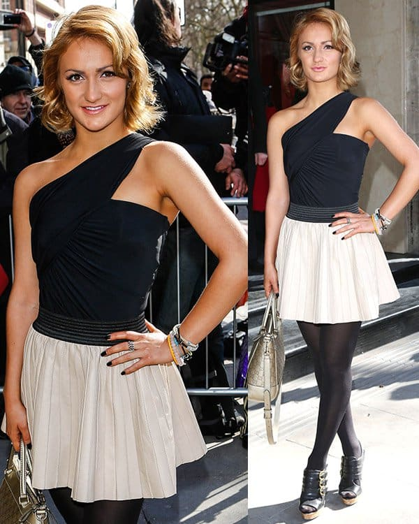 Aliona Vilani at The TRIC Awards 2013 held at the Grosvenor House Hotel - Arrivals