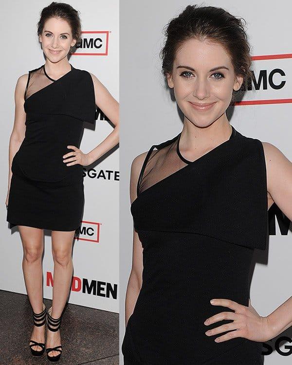 Alison Brie attends AMC's Mad Men - Season 6 Premiere on March 20, 2013