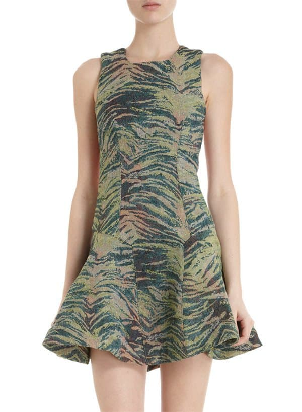Antipodium Jungle Embroidered Dress