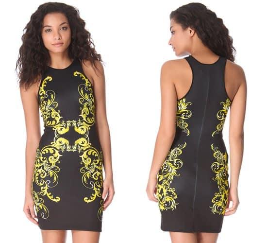 Clover Canyon Filigree Neoprene Dress