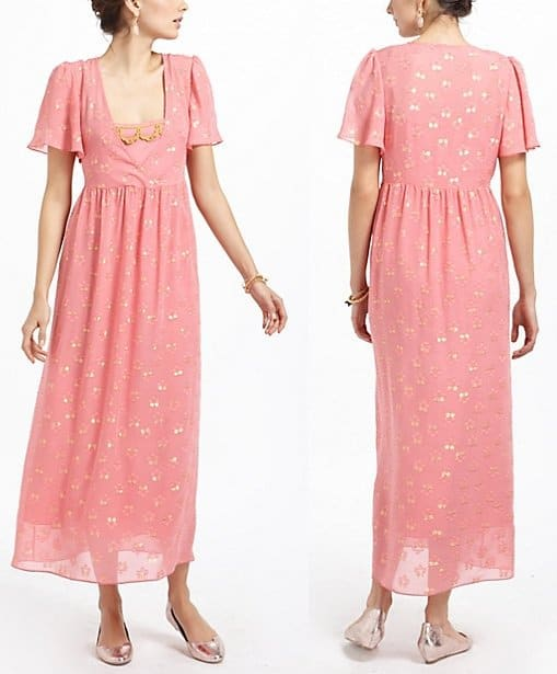 Electric Love Light Windswept Maxi Dress - Anthropologie
