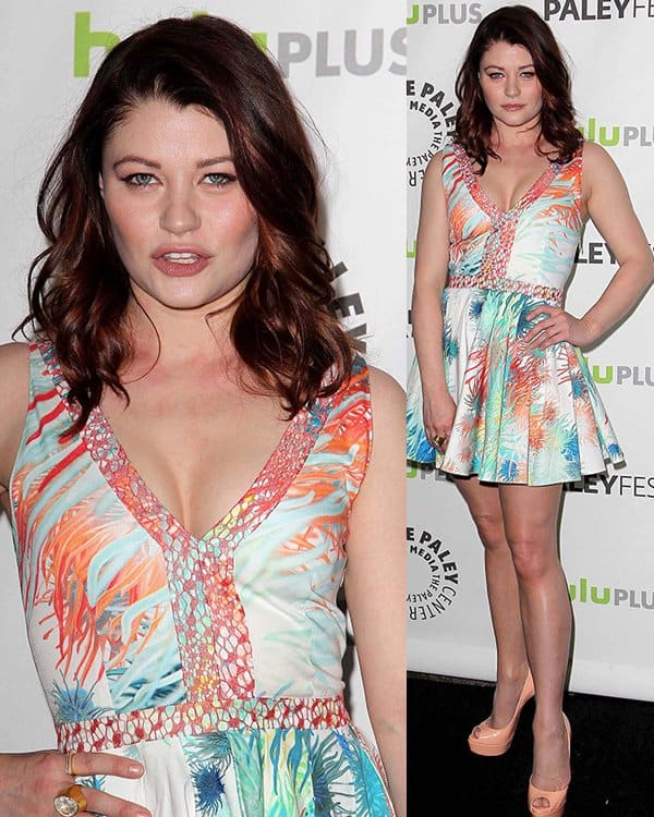 Emilie de Ravin at The Paley Center For Media's PaleyFest 2013 honoring 'Once Upon A Time' at The Saban Theater