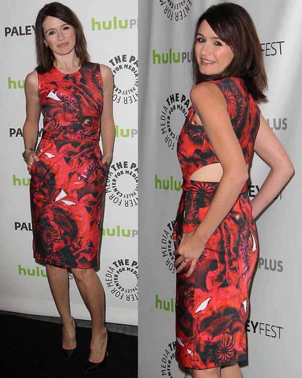 Emily Mortimer at The Paley Center For Media's PaleyFest 2013 honoring 'Newsroom' at The Saban Theater
