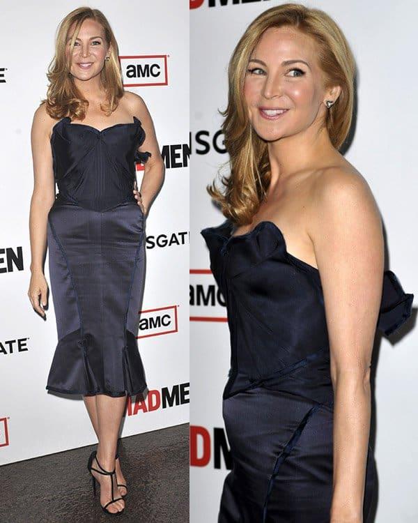 Jennifer Westfeldt attends AMC's Mad Men - Season 6 Premiere on March 20, 2013