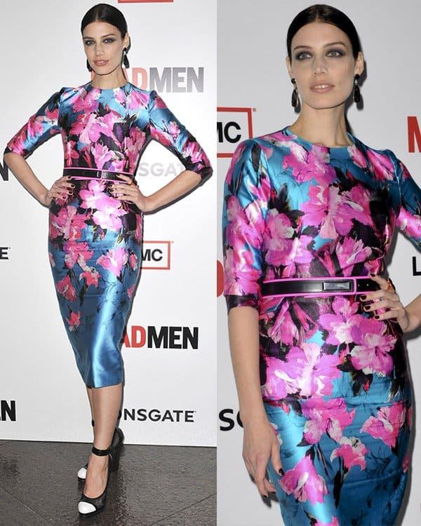 Jessica Pare attends AMC's Mad Men - Season 6 Premiere on March 20, 2013
