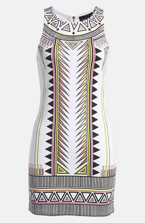 Mink Pink Techno Tribe Mini Dress