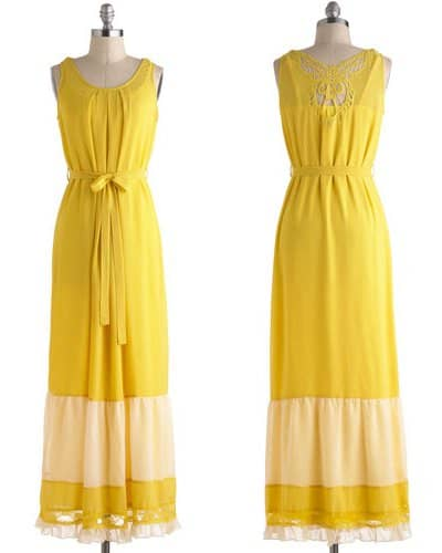 Lovely Lacewing Dress