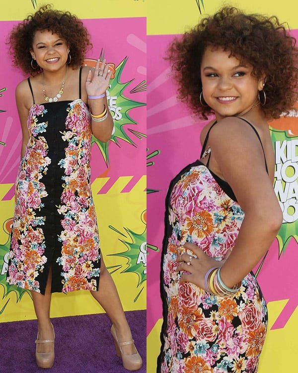 Rachel Crow at Nickelodeon's 26th Annual Kids' Choice Awards on March 23, 2013
