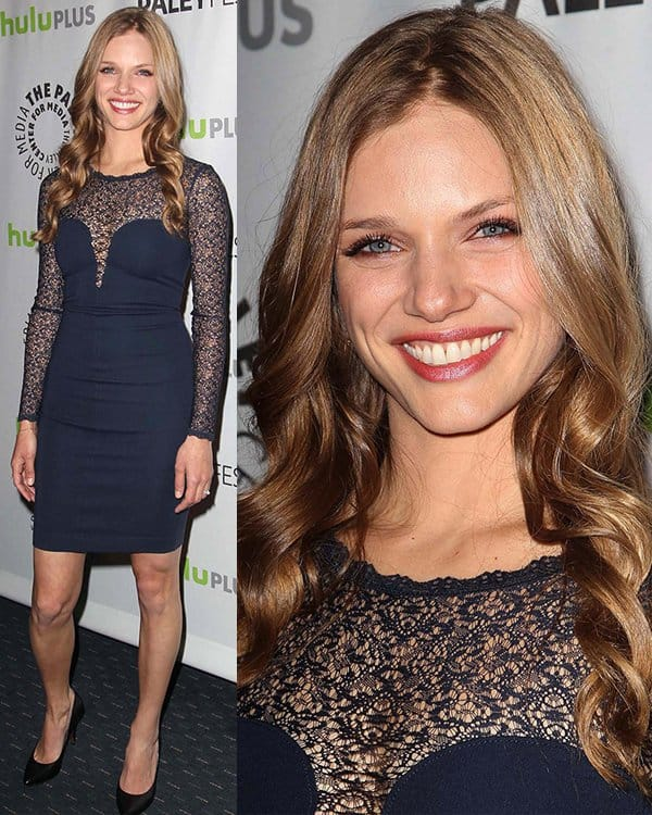 Tracy Spiridakos at The Paley Center for Media's PaleyFest 2013 honoring 'Revolution' at The Saban Theater