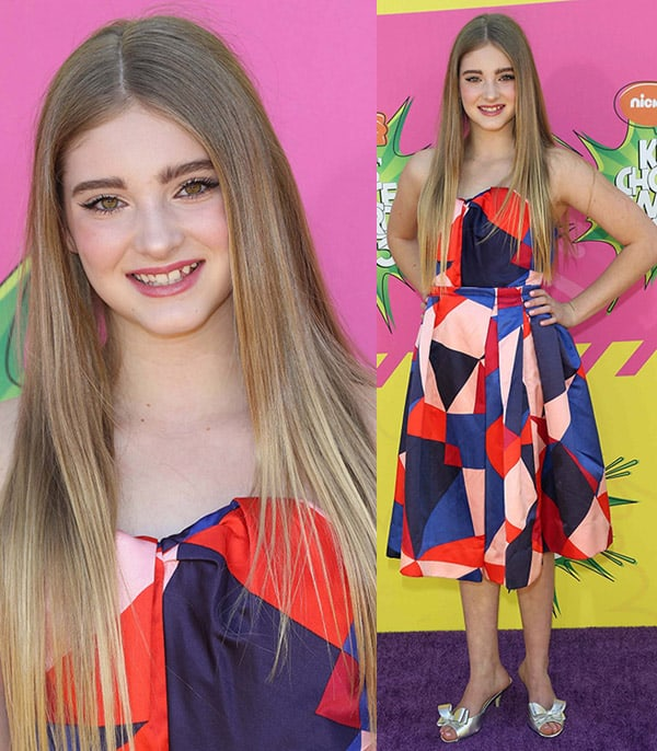 Willow Shields at Nickelodeon's 26th Annual Kids' Choice Awards on March 23, 2013