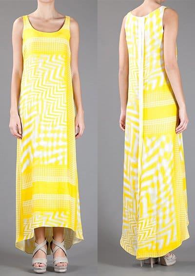 Zoe Jordan printed sleeveless dress