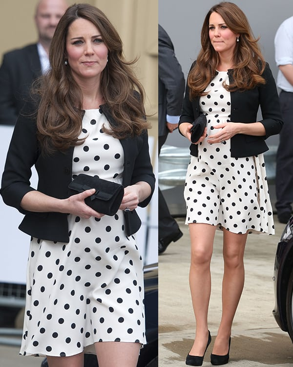 Catherine, Duchess of Cambridge at the Inauguration of Warner Bros Studios on April 26, 2013
