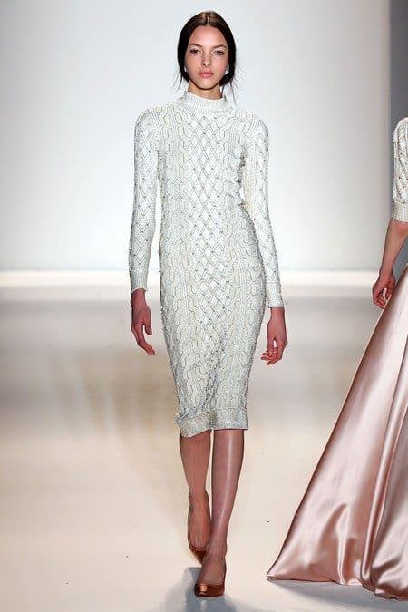 Jenny Packham Fall 2013 Knit Dress