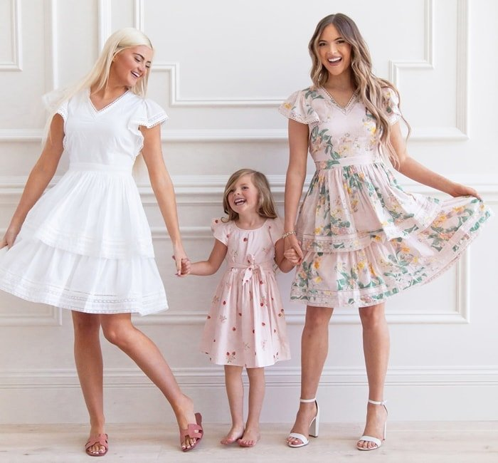 Rachell Parcell Tiered Fit & Flare DressThe sweet aesthetic of style blogger Rachel Parcell delightfully informs this tiered dress, decked with Swiss dots and lace