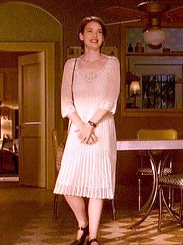 Winona Ryder as the struggling filmmaker, Lelaina Pierce, in the '90s classic Reality Bites