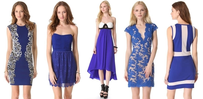 Blue cobalt is one of this year's hottest colors for spring and summer