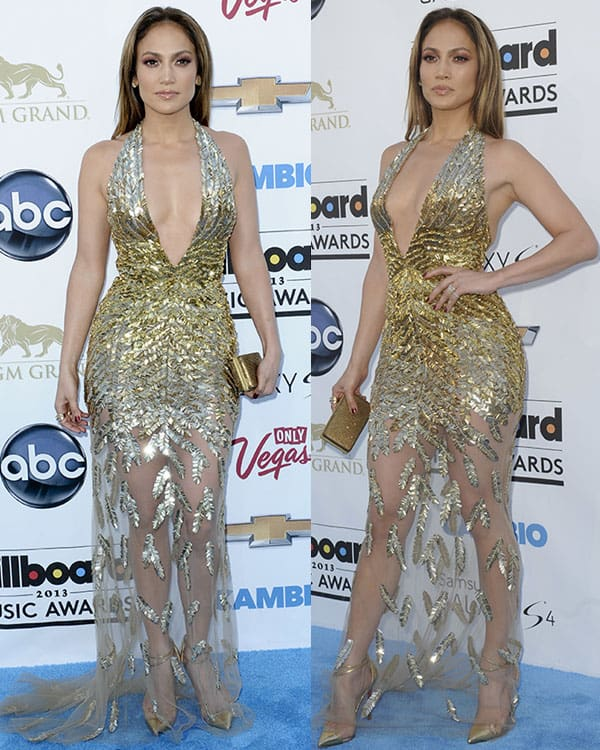 Jennifer Lopez at the 2013 Billboard Music Awards at the MGM Grand Garden Arena in Las Vegas on May 19, 2013
