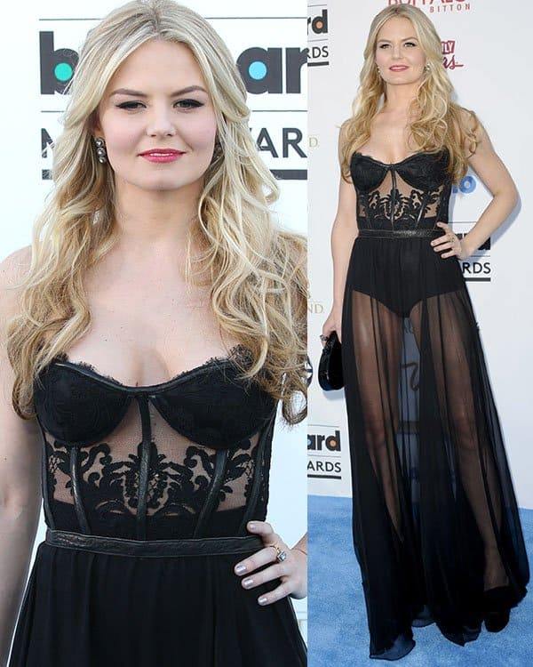 Jennifer Morrison at the 2013 Billboard Music Awards at the MGM Grand Garden Arena in Las Vegas on May 19, 2013