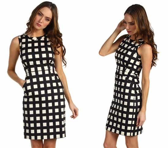 Kate Spade New York Checkered Lorelei Dress