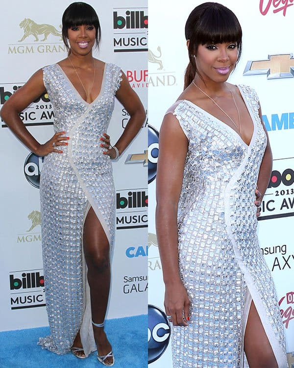 Kelly Rowland at the 2013 Billboard Music Awards at the MGM Grand Garden Arena in Las Vegas on May 19, 2013