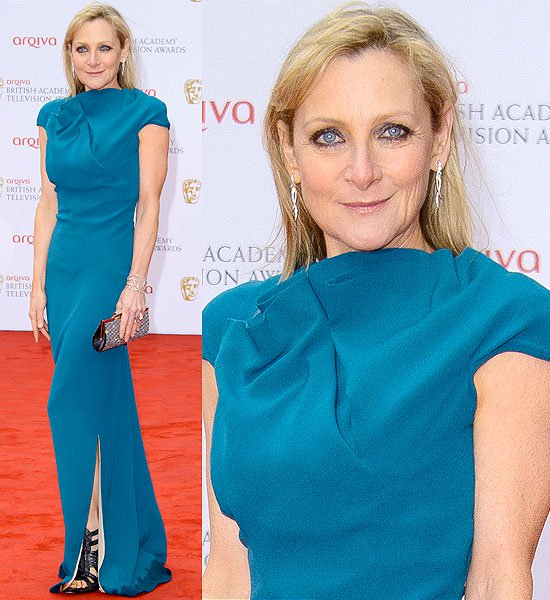 Lesley Sharp attends the Arqiva British Academy Television Awards