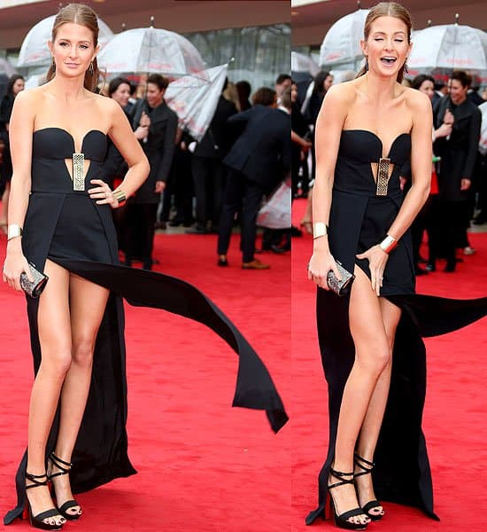 Millie Mackintosh 2013 Arqiva British Academy Television Awards