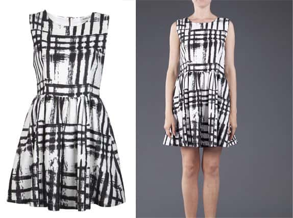 Sam & Lavi Crom Plaid Dress