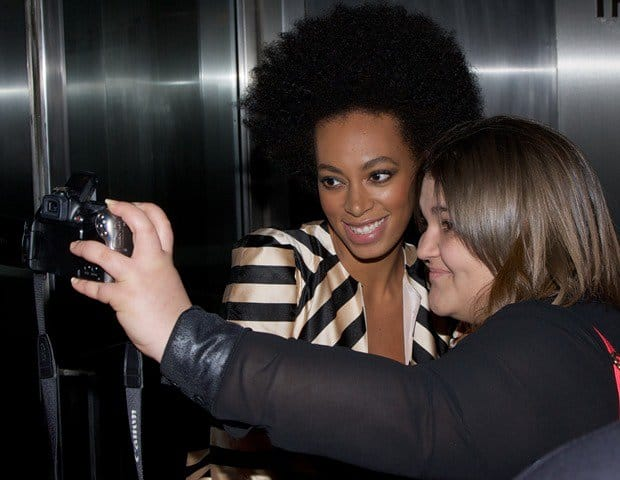 Solange Knowles at the special screening of The Great Gatsby at the Museum of Modern Art in New York City