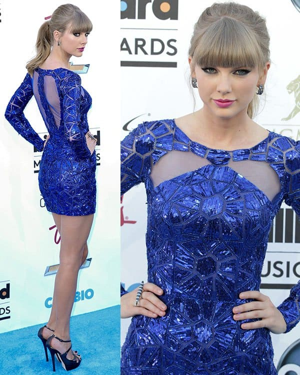 Taylor Swift at the 2013 Billboard Music Awards at the MGM Grand Garden Arena in Las Vegas on May 19, 2013