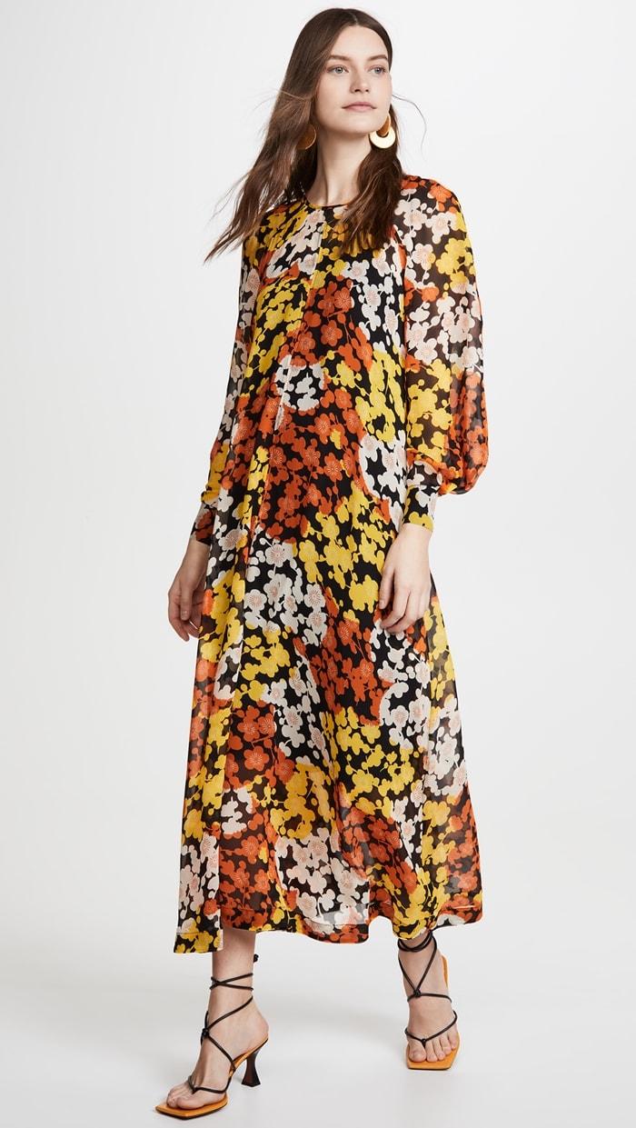 Yellow Ochre McQ - Alexander McQueen Hisano Maxi Dress