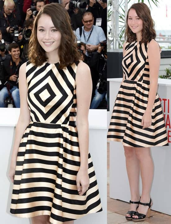 katie chang bling ring dress cannes photocall