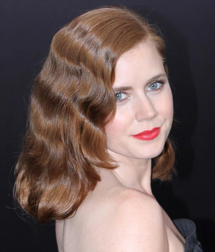 Amy Adams in black Nina Ricci dress at the world premiere of 'Man of Steel' at Alice Tully Hall in Lincoln Center in New York City on June 10, 2013