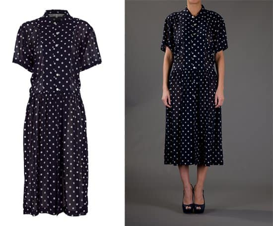 Comme Des Garcons Vintage Polka Dot Dress