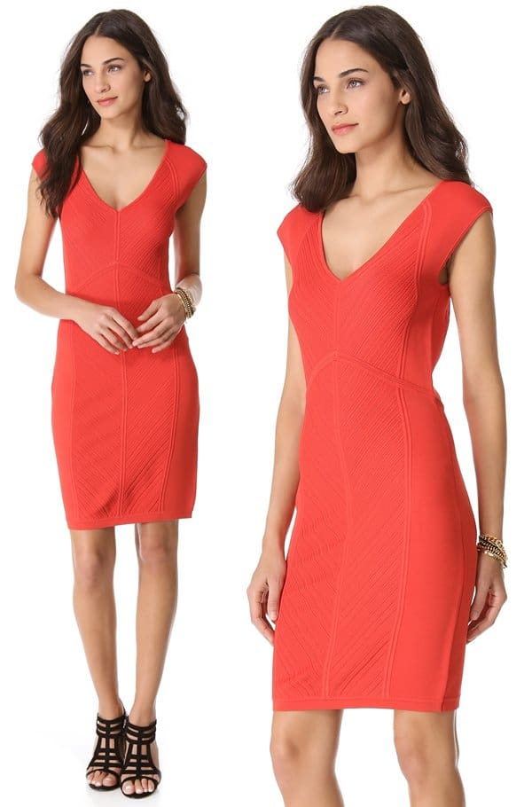 Diane von Furstenberg Cressida Dress_red