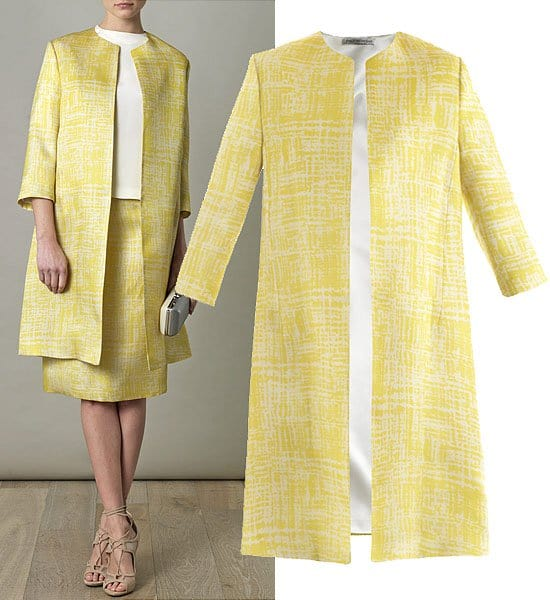 Emilia Wickstead Marella coat