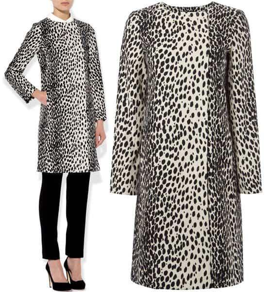 Hobbs Dalmatian Mac Coat