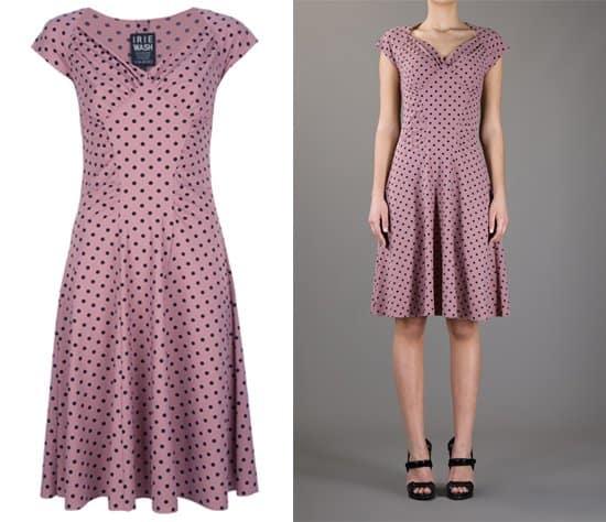 Irie Wash Polka  Dot Printed Dress