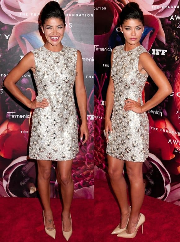 Jessica Szohr at the 2013 Fragrance Foundation's FiFi Awards in New York City on June 12, 2013