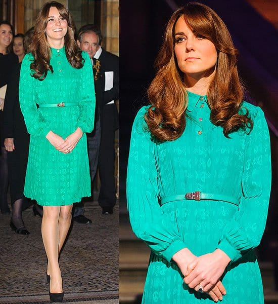 Kate Middleton New Treasures Gallery at the Natural History Museum