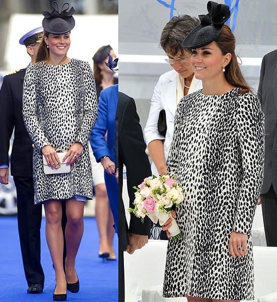 Kate Middleton Princess Cruises Ship Naming Ceremony