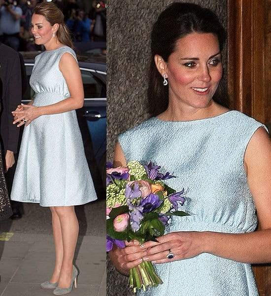 Kate Middleton The Art Room charity reception