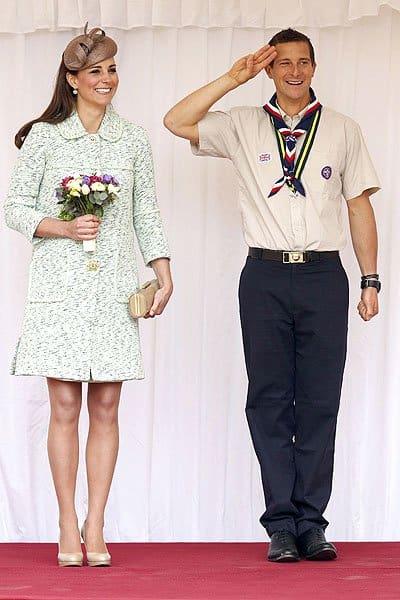 Kate Middleton and Bear Grylls
