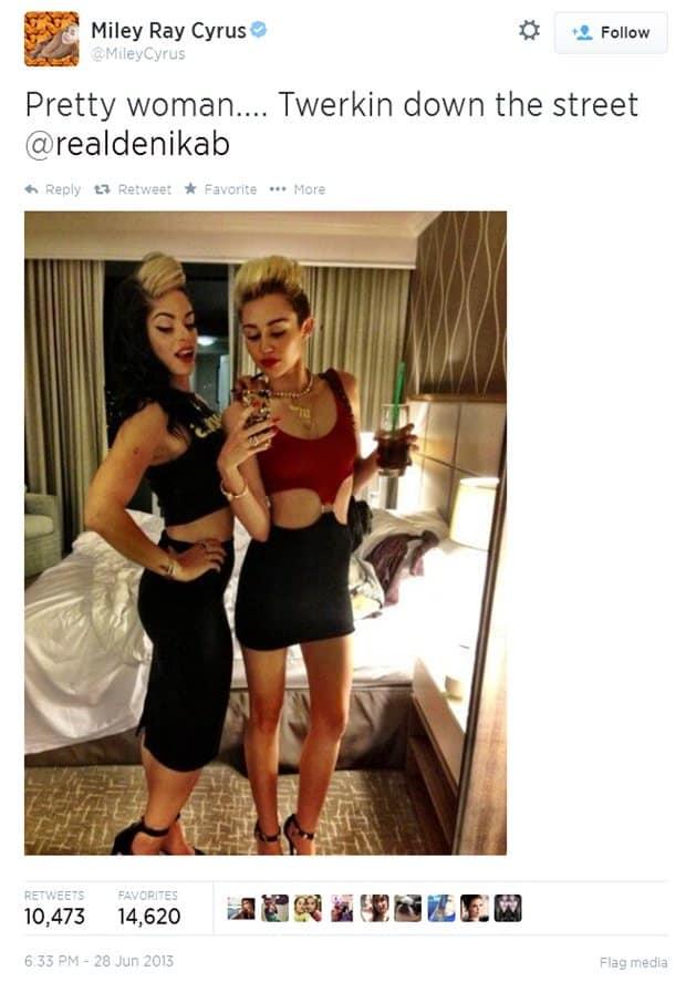 Miley Cyrus Twerkin
